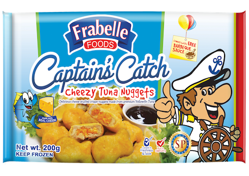 Frabelle Foods Captain's Catch Cheezy Tuna Nuggets photo