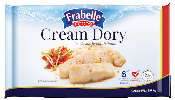 Frabelle Foods Cream Dory 1kg photo