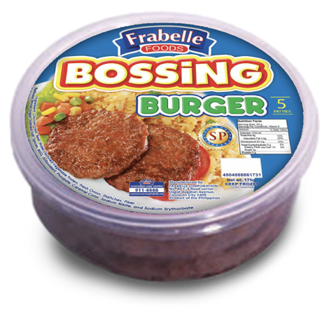 Bossing Burger 175g photo