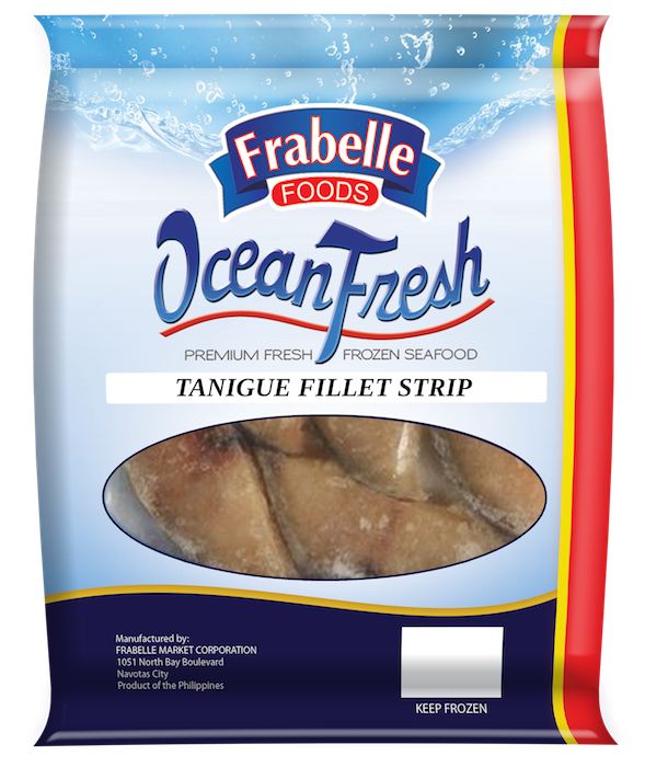 Frabelle Foods Ocean Fresh Tanigue Fillet Strips 250g photo