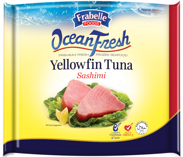 Frabelle Foods Ocean Fresh Yellowfin Tuna Sashimi 500g photo