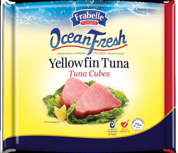 Frabelle Foods Ocean Fresh Yellowfin Tuna Cubes 500g photo