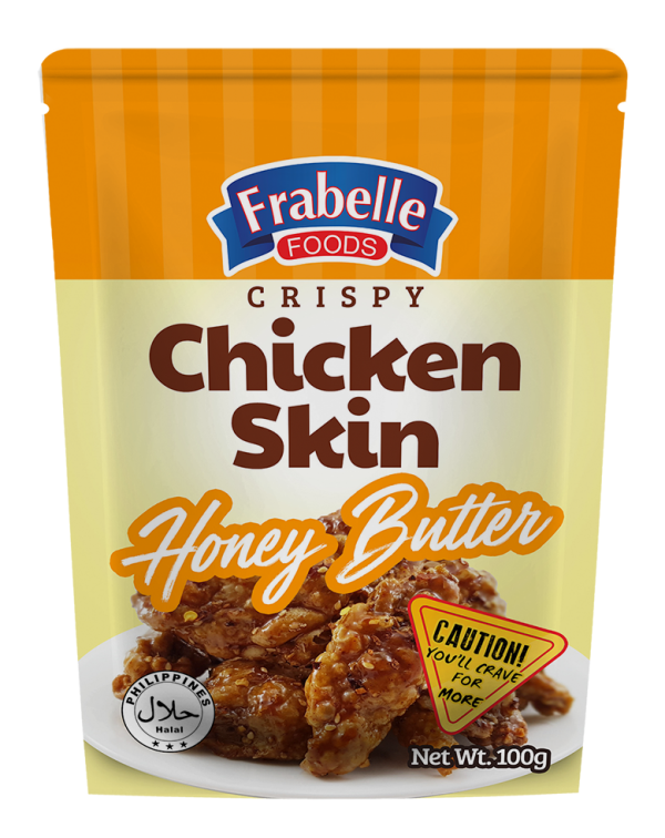 Frabelle Foods Crispy Chicken Skin Honey Butter 100g photo
